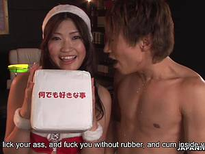 Kinky Karin Kusunoki eager for her pussy to be fucked good