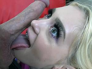 Pigtailed squirter Anastasia Knight in a rough sex video