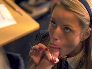 Sweet schoolgirl deflowered by her teacher