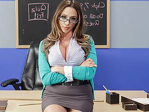 OMG! My exotic mathematics teacher riding my cock in the classroom